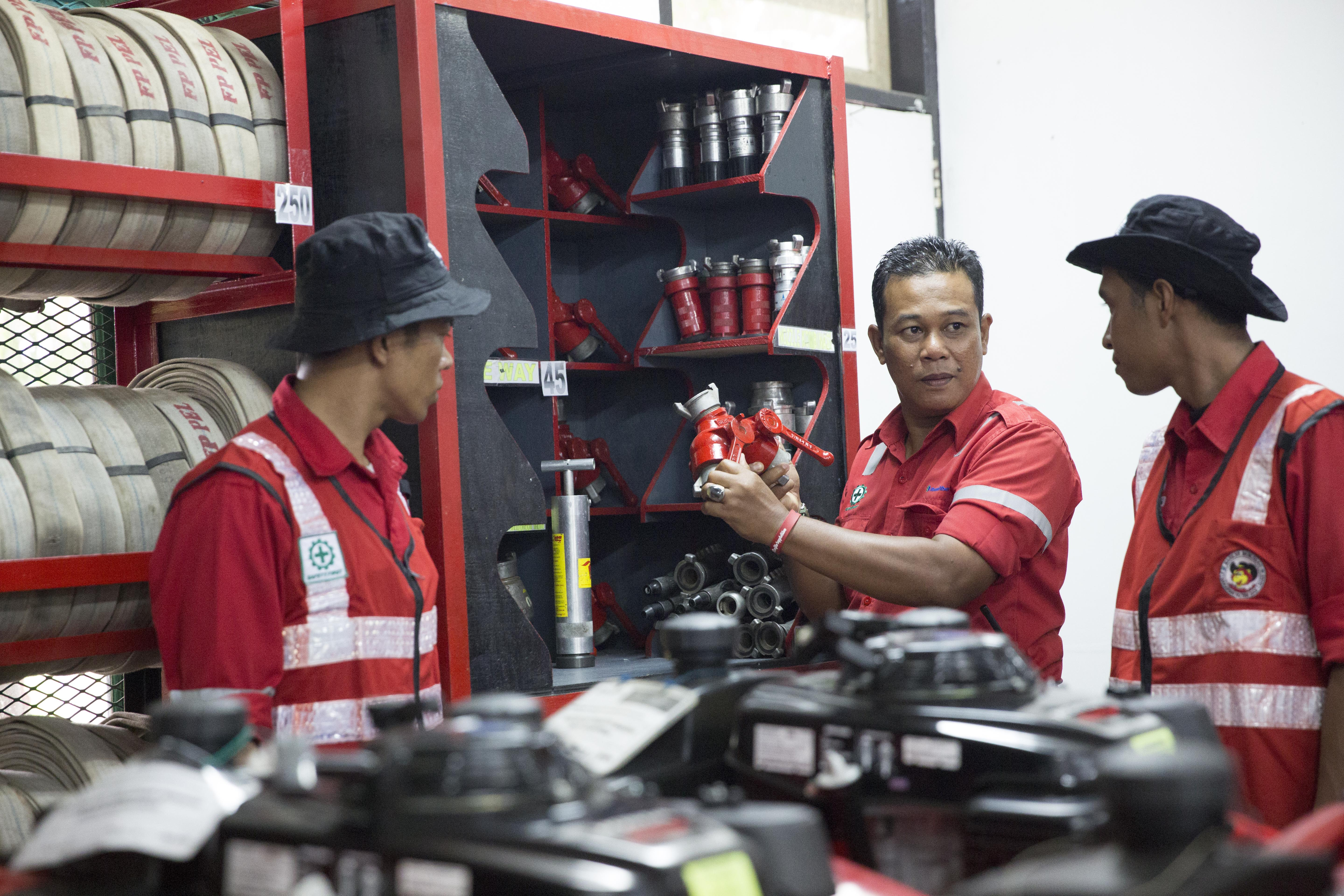 Sulaiman, Fire Emergency Response Team dari APRIL Group