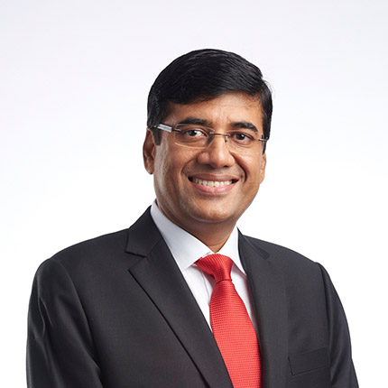 Praveen Singhavi, President, APRIL