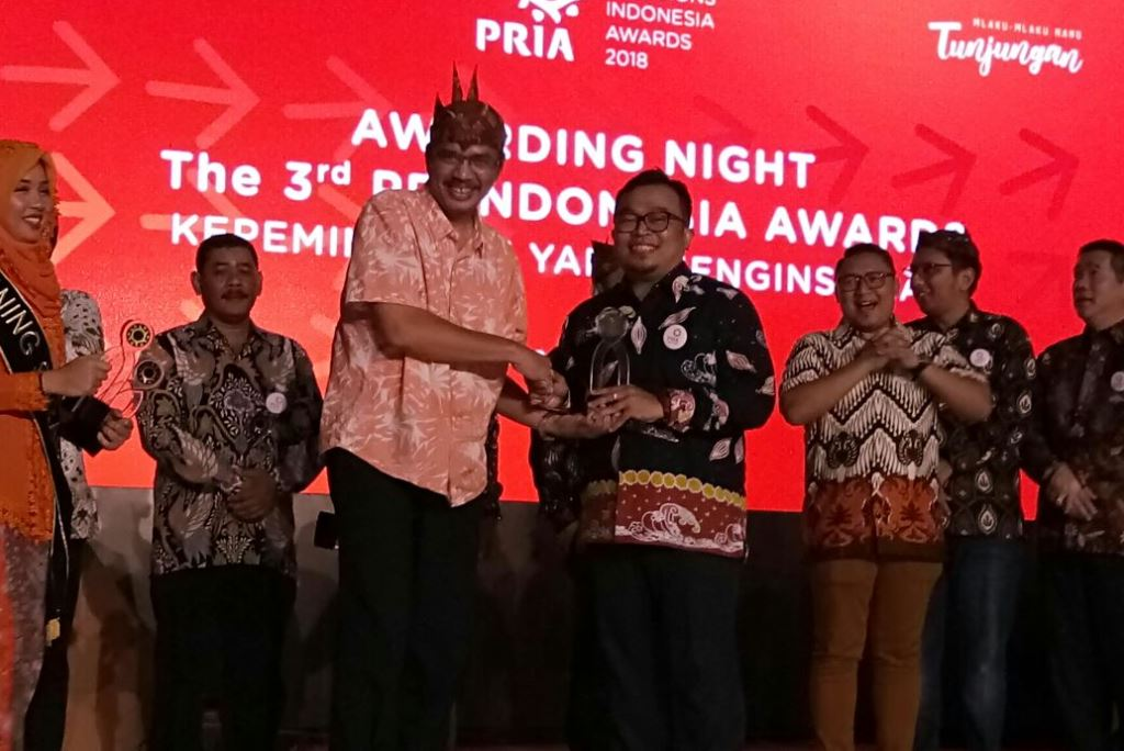 APRIL won 3 trophies at the PR Indonesia Awards 2018