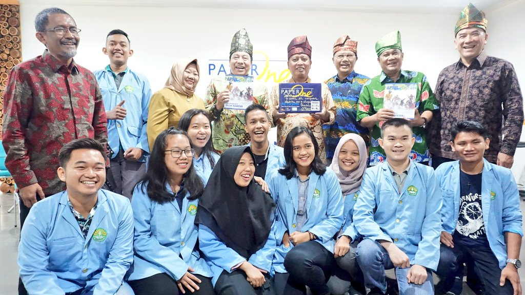 APRIL Inaugurates First Vocational Pulp and Paper Study Program in University of Riau