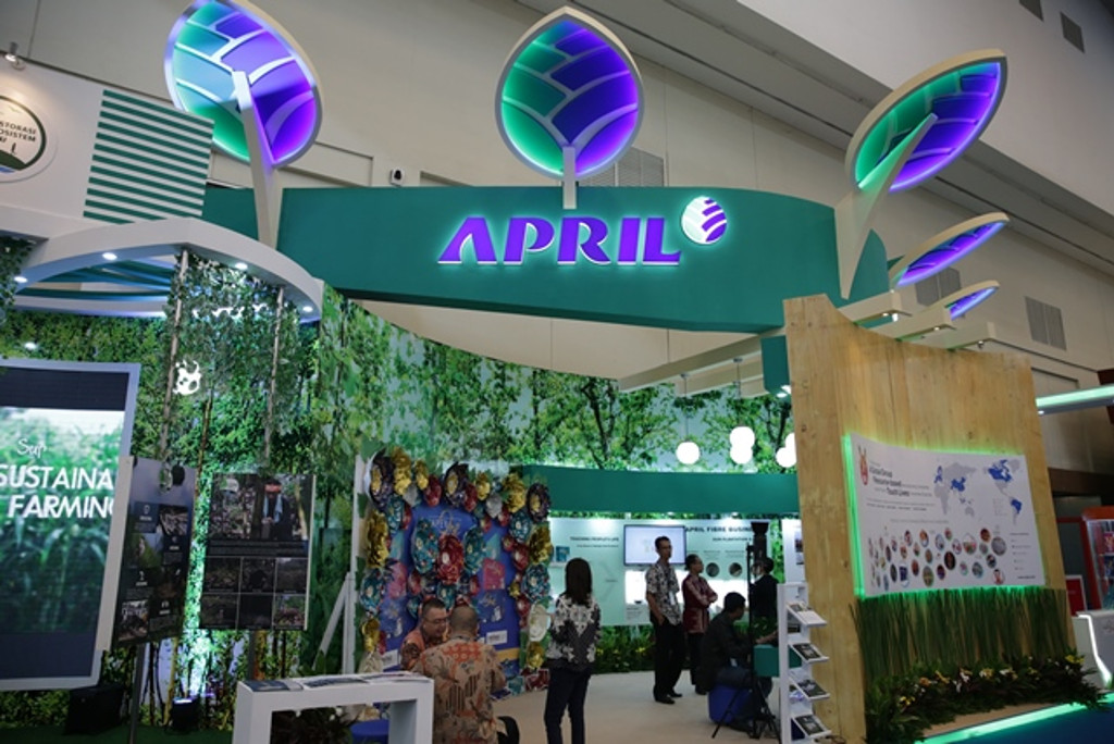 APRIL Group and PaperOneTM participate at the 32nd Trade Expo Indonesia held by the Ministry of Trade