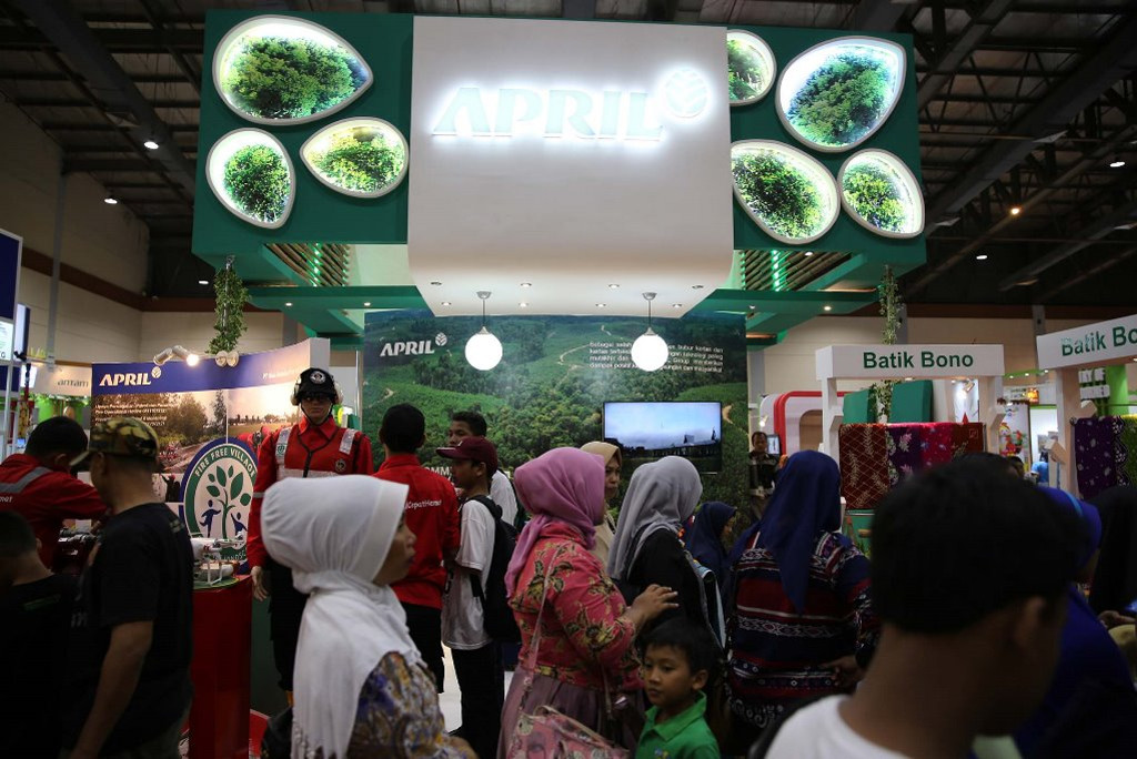 APRIL at The 9th IndoGreen Environment & Forestry Expo 2017 held by the Ministry of Environment and Forestry