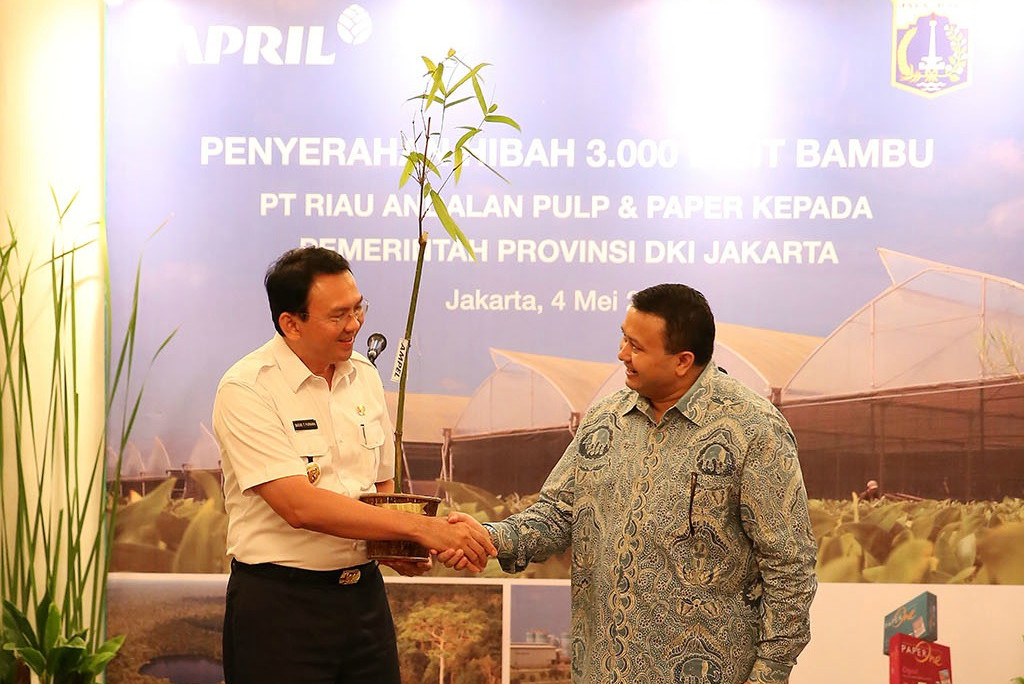 Bamboo Seeds Donation to DKI Jakarta Government by PT. RAPP, Jakarta
