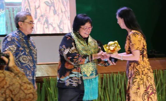 SD Global Andalan, a Primary School under RAPP management, received the Adiwiyata environmental award from the Ministry of Environment and Forestry in December 2019.