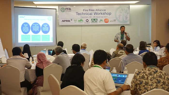 Forest Fire Safety Awareness & Training Indonesia