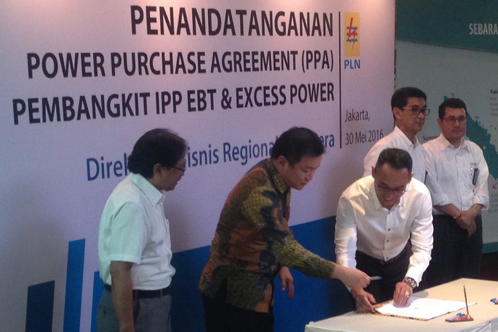 PT. RPE signed MOU with PLN Riau, increasing electricity supply to 15 megawatts, derived  from renewable energy